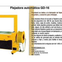 flejadora gd-16 automatica