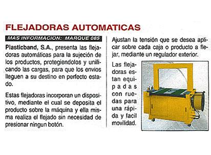 flejadoras automaticas plasticband