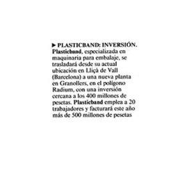 inversion plasticband