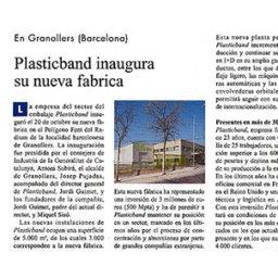 plasticband inaugura nueva fabrica