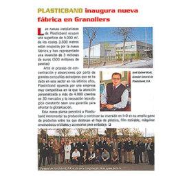 nueva fabrica plasticband 2001