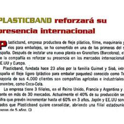 plasticband presencia internacional