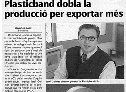 plasticband dobla exportacion