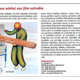 plasticband envolvedora orbital embalaje