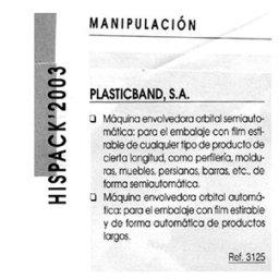 hispack 2003 plasticband