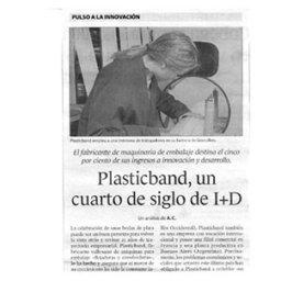 cuarto siglo plasticband equipos embalaje