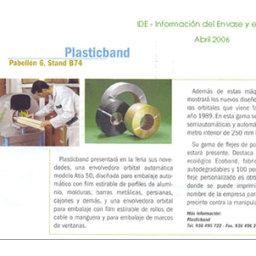 plasticband nuevo modelo embalaje