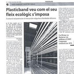 Plasticband fleje ecológico