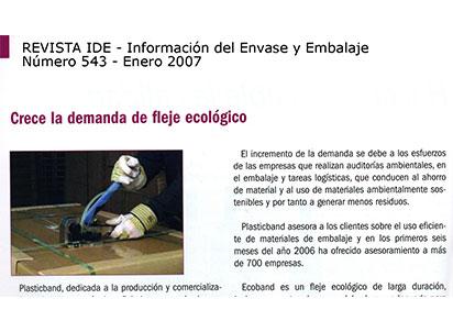 demanda fleje ecologico plasticband