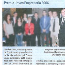 premio empresario 2006 plasticband