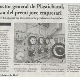 gerente plasticband finalista premi jove empresari