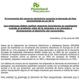 nota prensa incremento comercio plasticband