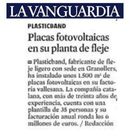 placas fotovoltaicas plasticband