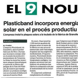 energia solar plasticband