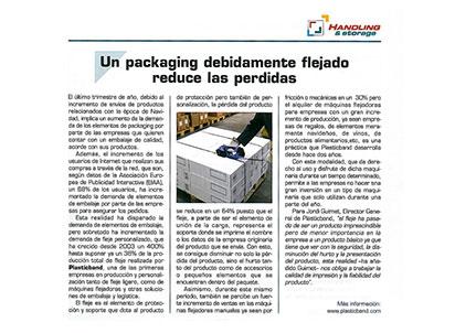 packaging flejado plasticband