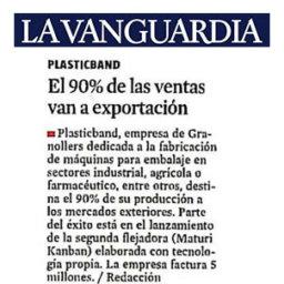 exportacion fleje embalaje plasticband