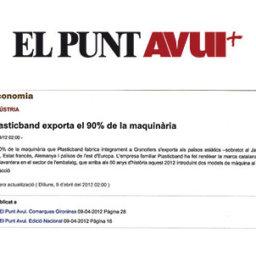 Plasticband exporta maquinaria