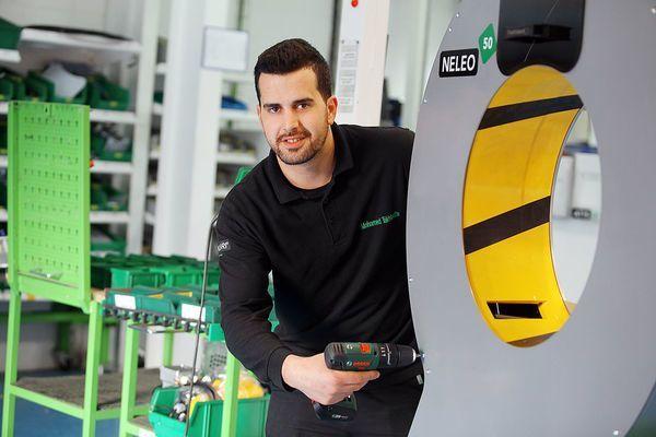 Producción de maquinaria - Mohamed-Taktoufte