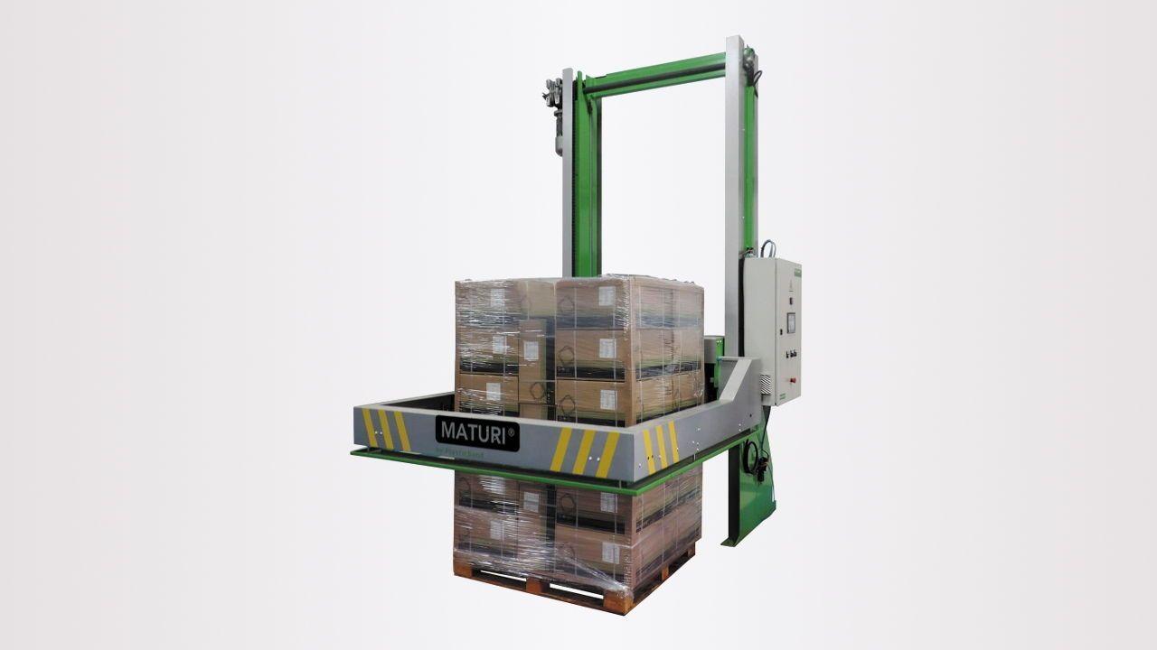 Flejadora horizontal automática de palets Maturi H