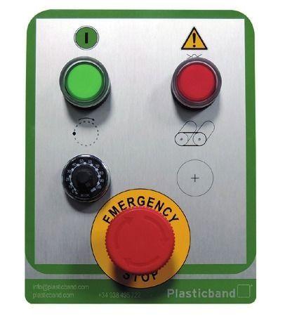 panel control embaladora