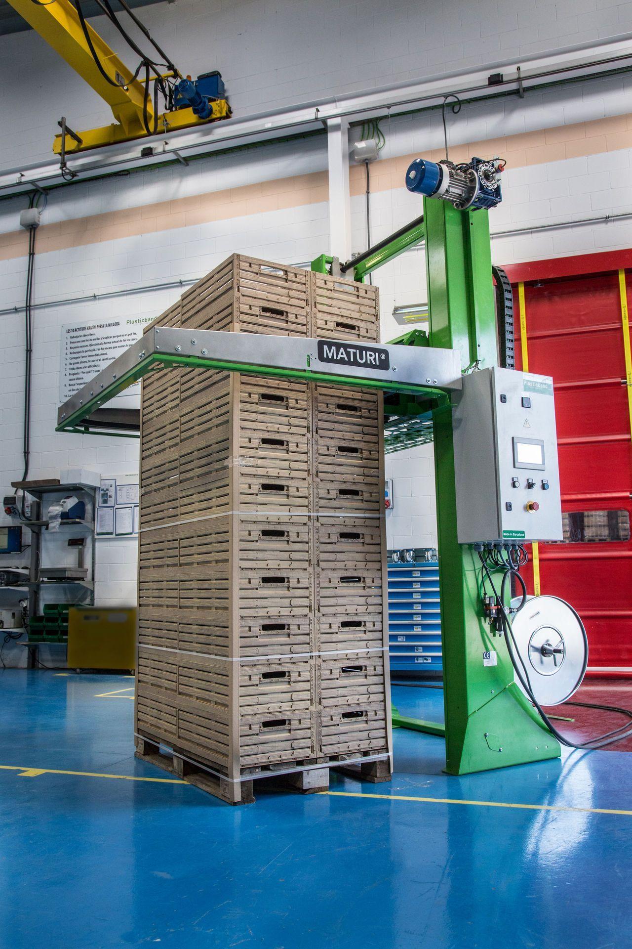 3a generación flejadoras automáticas de palets Maturi®