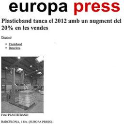 plasticband cierra 2012 aumento