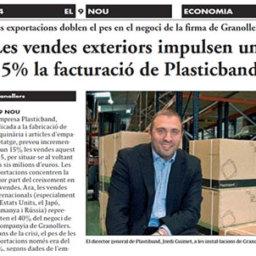 ventas exteriores plasticband