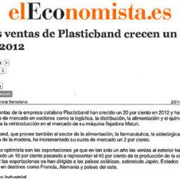 ventas plasticband crecen