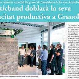 Plasticband doblarà la seva capacitat productiva a Granollers