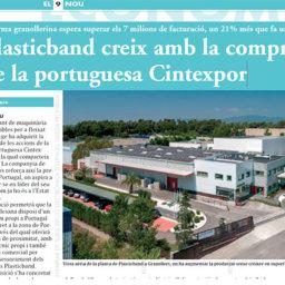 Plasticband adquiere la portuguesa Cintexpor