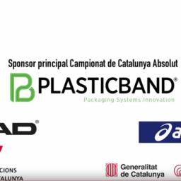 Campionat de Catalunya de Pàdel Open PLASTICBAND - 2019