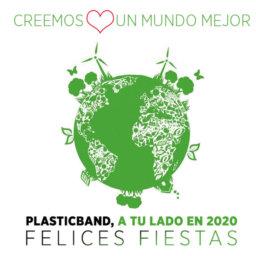 Plasticband Navidad 2020