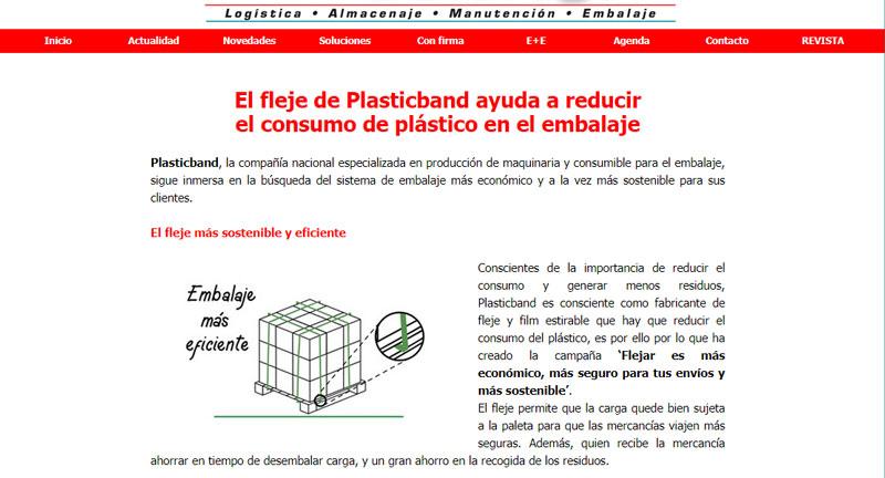 Handling storage Plasticband