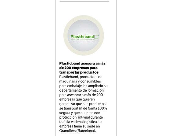 Plasticband asesora a más de 200 empresas para transportar productos