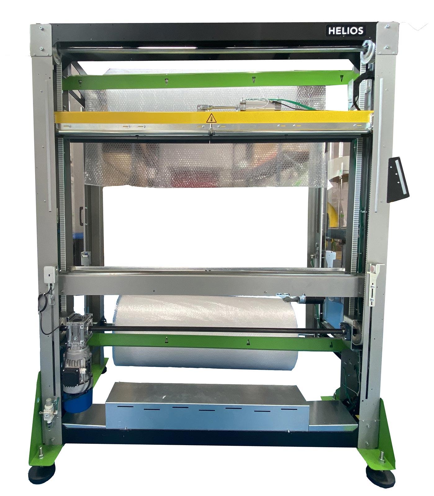 Dispensador de plástico de burbujas para proteger productos