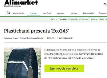 Plasticband presenta Eco245