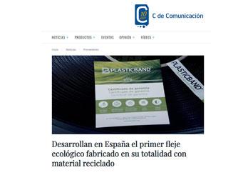 Desarrollan en España el primer fleje ecológico fabricado en su totalidad con material reciclado