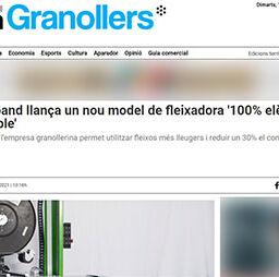 Plasticband llança un nou model de fleixadora 100% elèctric i sostenible