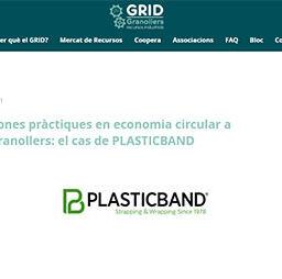 Bones pràctiques en economia circular a Granollers: el cas de PLASTICBAND
